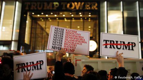 Виступи перед резиденцією Трампа