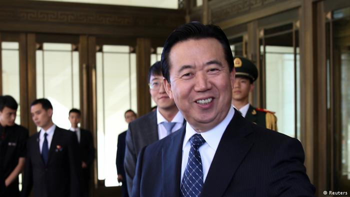 China Peking Meng Hongwei, Chinese Vice Public Security Minister (Ausschnitt) (Reuters)