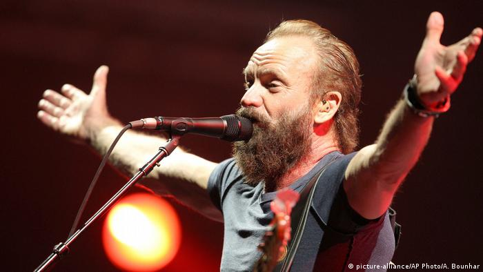 Marokko Mawazine Festival Sting (picture-alliance/AP Photo/A. Bounhar)