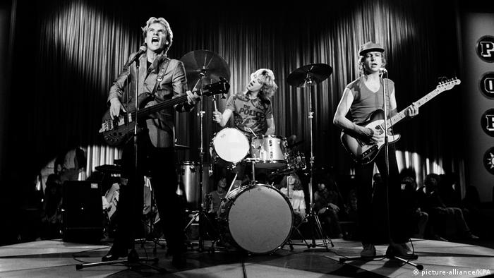 The Police Konzert mit Sting, ca. 1979/80 (picture-alliance/KPA)