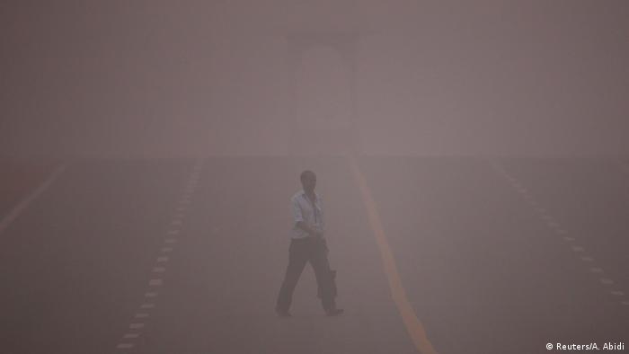 Indien Neu Delhi Smog (Reuters/A. Abidi)