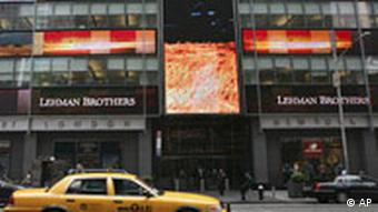 Lehman-Brothers-Zentrale in New York (Foto: AP)