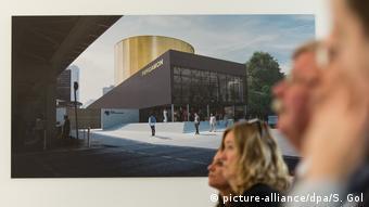 Berlin temporary exhibition space for Pergamon