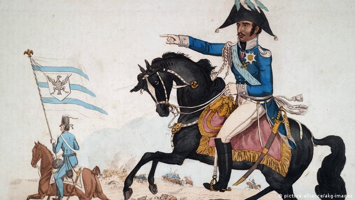 Фридрих Вильгельм III. Рисунок 1815 года