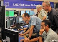Первый старт  Большого адронного коллайдера