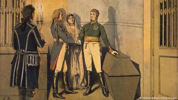 Рисунок Карла Рёхлинга (1855-1920)