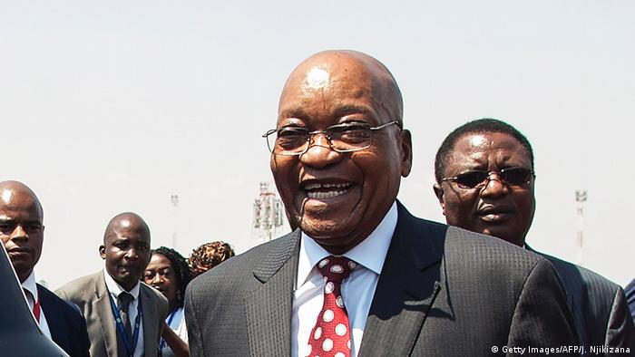 Südafrika Präsident Jacob Zuma (Getty Images/AFP/J. Njikizana)