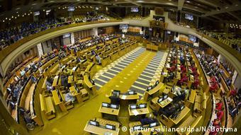 Südafrika Vertrauensabstimmung im Parlament Jacob Zuma