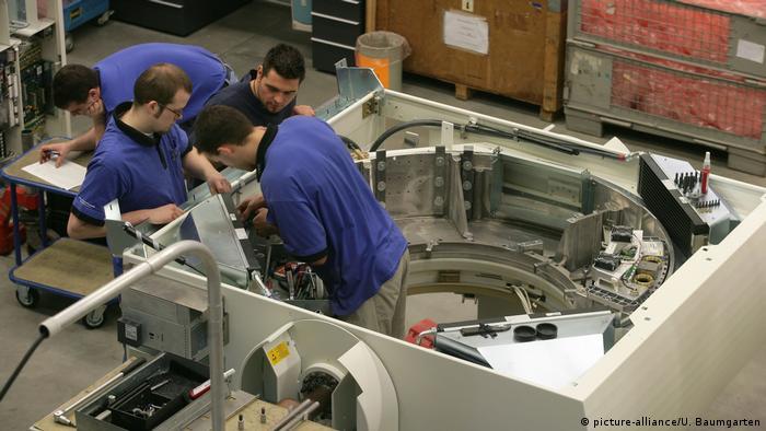 Siemens workers