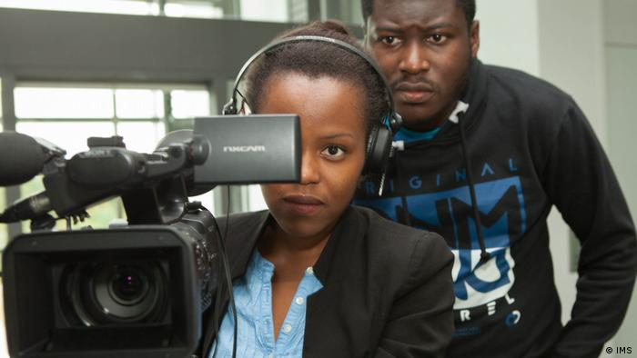 Students of DW Akademie's Master's Program International Media Studies, photo: IMS