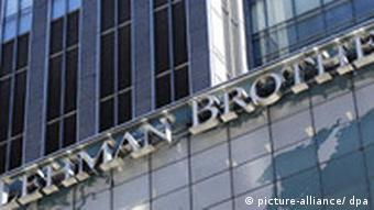 headquarters of Lehman Brothers in New York