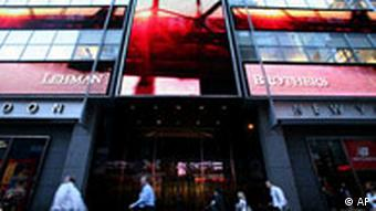 Lehman-Brothers-Zentrale in New York (Quelle: AP)