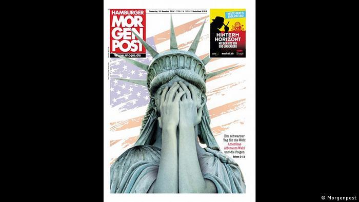 Screenshot Titelblatt Morgenpost (Morgenpost)