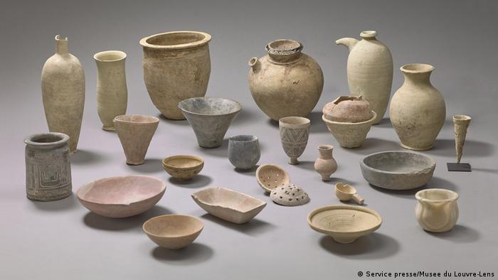 Jars and pots from Mesopotamia (Service presse/Musee du Louvre-Lens)