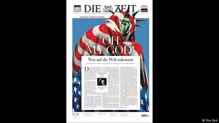 Screenshot Titelblatt Die Zeit (Die Zeit)