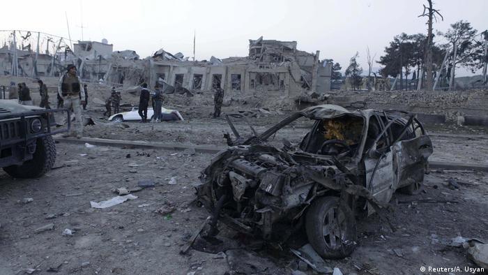 Afghanistan Explosion in der Nähe des deutschen Konsulatsbüros in Mazar-i-Sharif