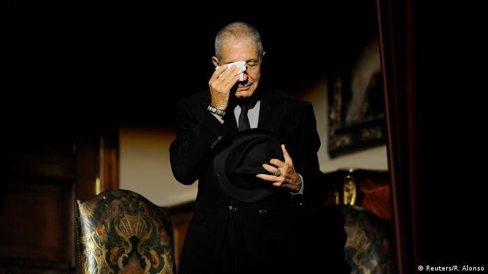 Leonard Cohen (Reuters/R. Alonso)
