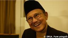 Indonesien BJ. Habibie Präsident