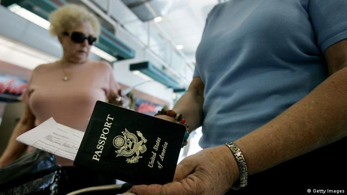 Kanada US Bürger Auswanderung Pass