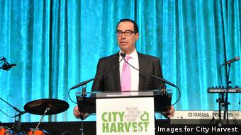 USA Steven Mnuchin Rede bei City Harvest (Getty Images for City Harvest)