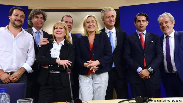 Rechtspopulistische Fraktion im Europäischen Parlament Europa der Nationen und der Freiheit