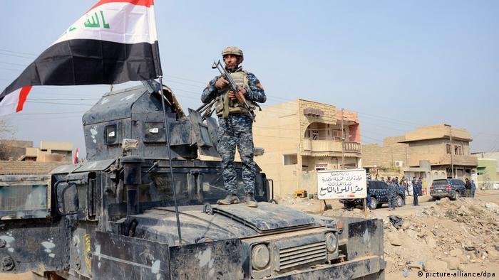 Іракські війська у передмісті Мосула