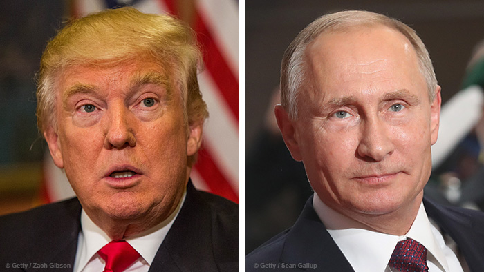 Kombobild Trump/Putin