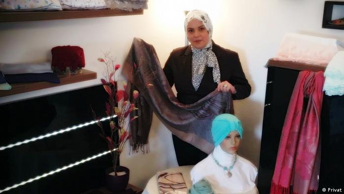 4557f335e قصة نجاح لاجئة سورية عبر التجارة الإلكترونية | معلومات للاجئين | DW ...
