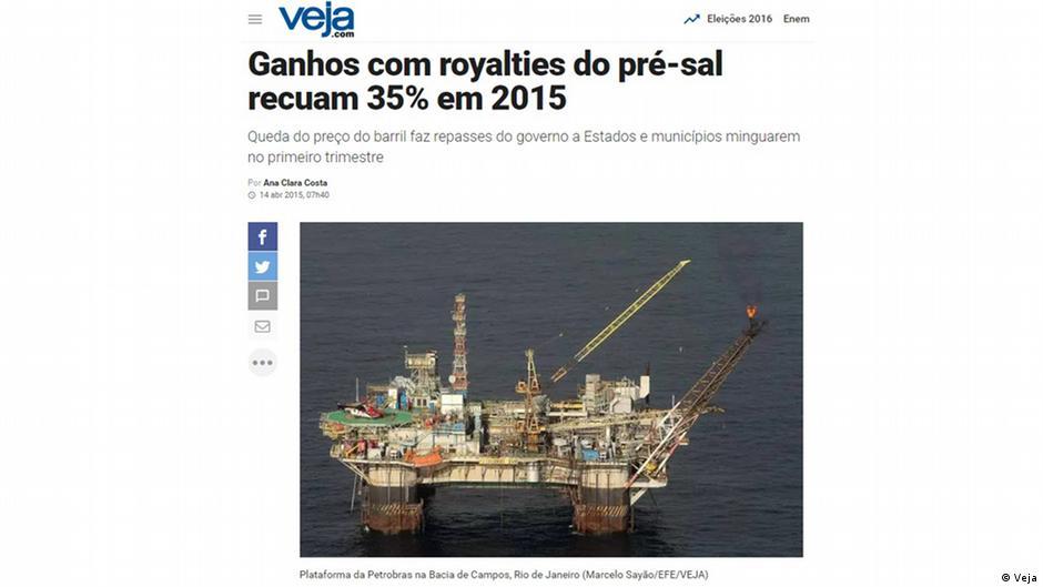 Governo arrecada 6,82 bilhões de reais em leilão do pré-sal