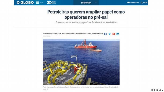 Screenshot - O Globo (O Globo)
