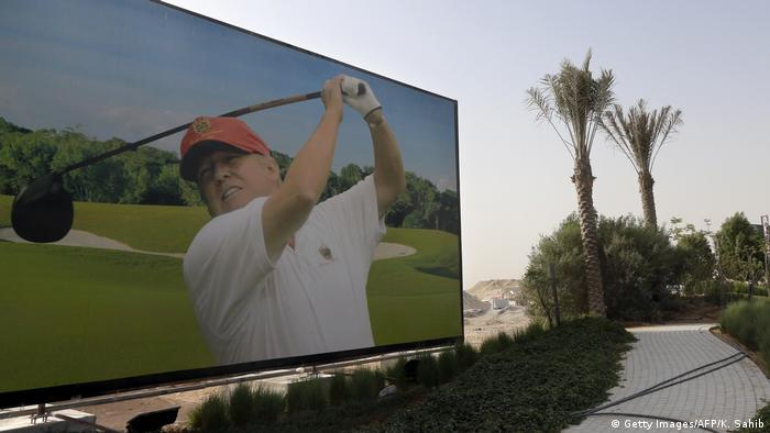 Dubai | Trump Golf Ressort (Getty Images/AFP/K. Sahib)