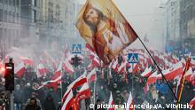11.11.2016+++Warschau, Polen+++ 2972526 11/11/2016 Participants in the Independence March in Warsaw. Alexey Vitvitsky/Sputnik |