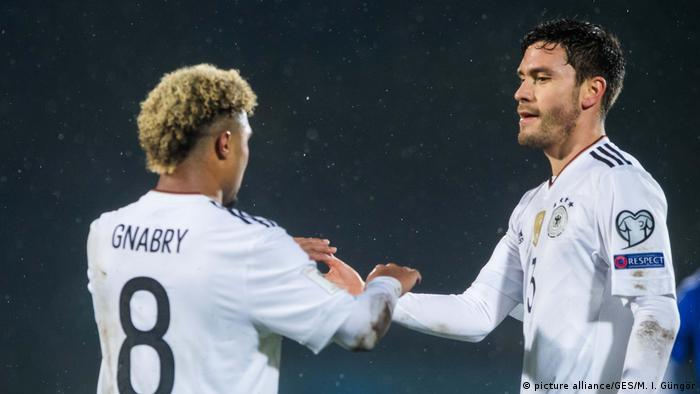 Dream Debut For Hat Trick Hero Serge Gnabry As Germany Rout San