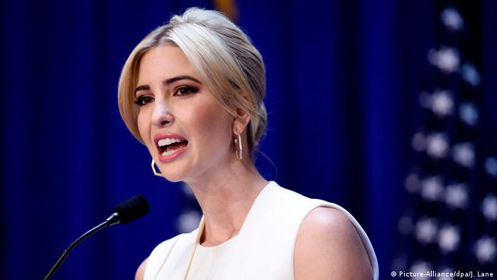 Ivanka Trump (Picture-Alliance/dpa/J. Lane)