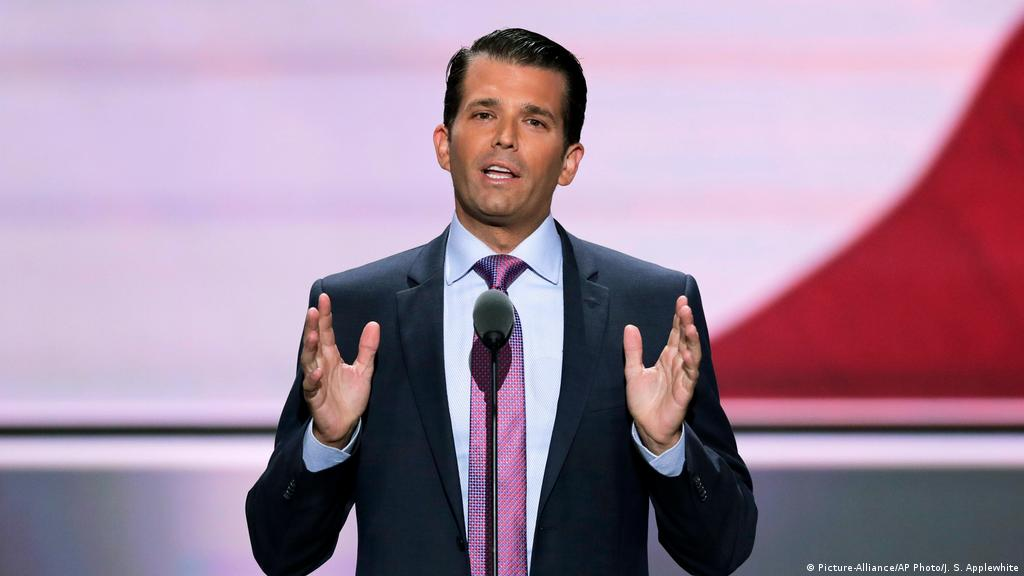 Donald Trump Jr Unleashes Twitter Storm With London Attack Comment News Dw 23 03 2017