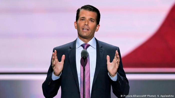 Donald Trump Jr (Picture-Alliance/AP Photo/J. S. Applewhite)