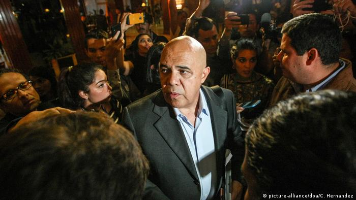 Venezuela Treffen Regierung und Opposition