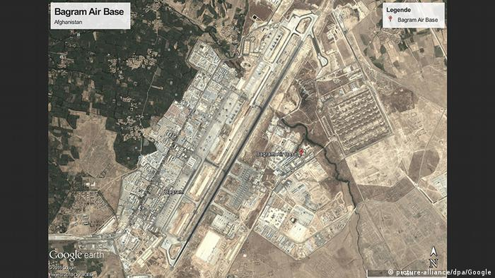 Afghanistan Bagram Air Base (picture-alliance/dpa/Google)
