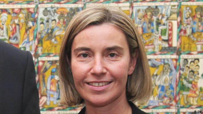 Vertreterin der Europäischen Union für Außen- und Sicherheitspolitik Federica Mogherini