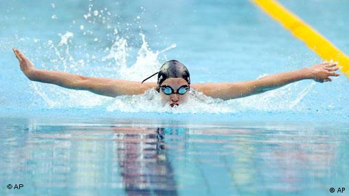 New Zealand's Sophie Pascoe swims to a win in a heat of the Women's 200m Individual Medley SM10 at the 2008 Beijing Paralympic Games in Beijing Thursday Sept 11, 2008.