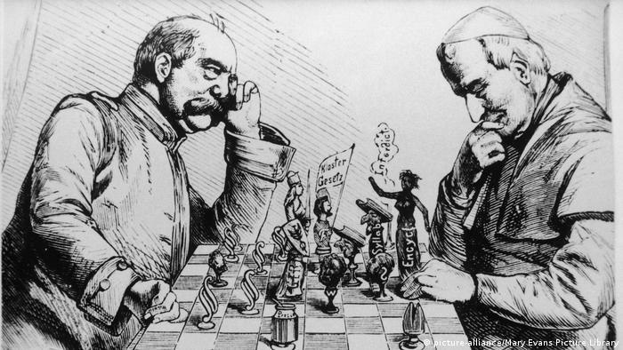 Prominente spielen Schach Otto von Bismarck (picture-alliance/Mary Evans Picture Library)