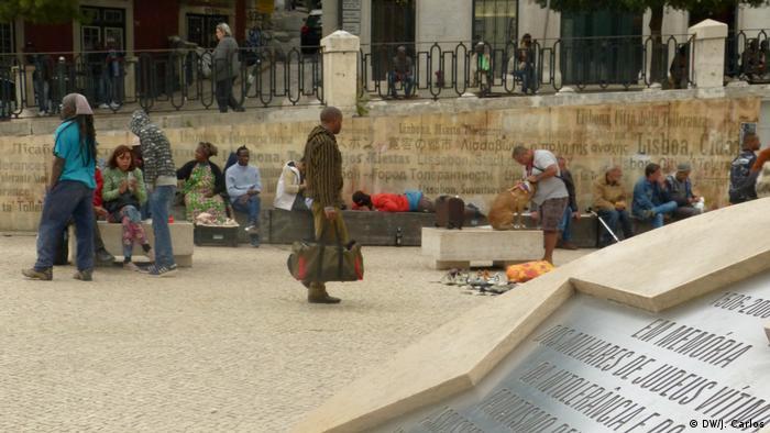 Portugal Lissabon - Migranten