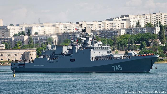 ناوچه آدمیرال گریگورویچ نیروی دریایی روسیه کلاس کریواک است. اولین کشتی آن در سال ۲۰۱۳ به آب انداخته شد و در جنگ سوریه نیز از آن استفاده شده است. ناوچه آدمیرال گریگورویچ جزو برنامه صادراتی روسیه نیز هست و قرارداد فروش آن با هند نیز به امضا رسیده است.