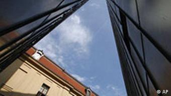 View of Berlin's Jewish Museum