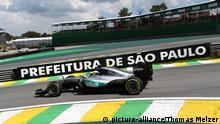 Lewis Hamilton Formel 1 in Sao Paulo
