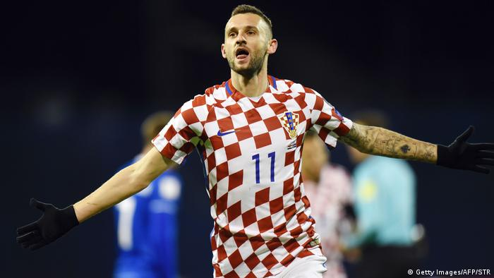 Kroatien FIFA World Cup 2018 Qualifikation Kroatien vs Island Marcelo Brozovic (Getty Images/AFP/STR)