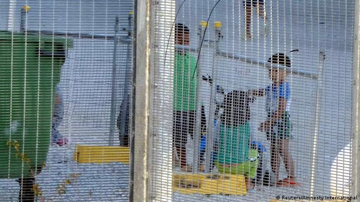 Asylum seekers on Nauru island (Reuters/Amnesty International)