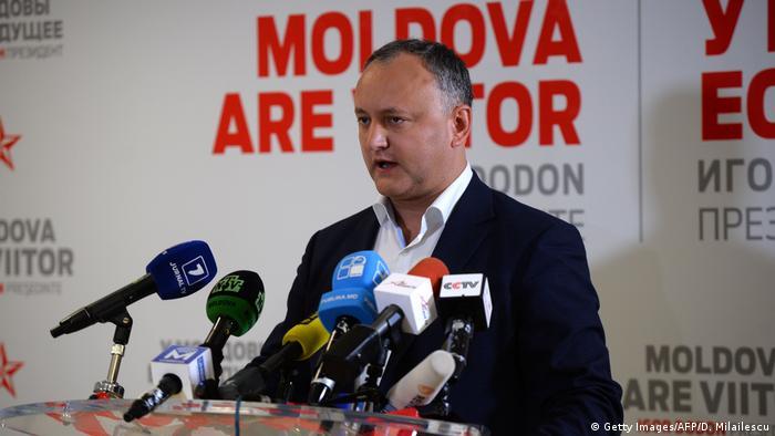 Moldawien vor Präsidentschaftswahl Igor Dodon