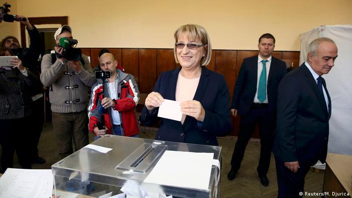 Bulgarien Präsidentschaftswahl 2. Runde Zezka Zatschewa (Reuters/M. Djurica)
