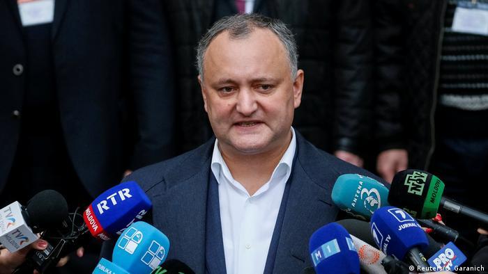 Moldawien Präsidentschaftswahl Igor Dodon (Reuters/G. Garanich)